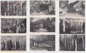 82641/9 Ak Jenolan N.S.W. Australien Höhlenansichten 1914
