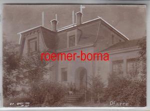 76933 Original Foto Pfarre bei Oschatz um 1930