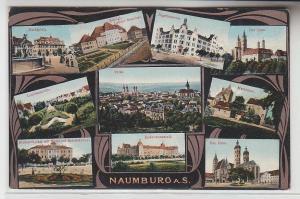 71050 Mehrbild Ak Naumburg an der Saale Jägerkaserne usw. 1913