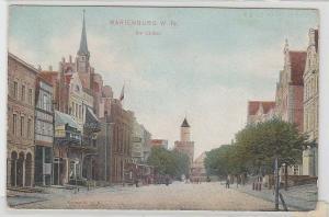 68480 Ak Marienburg in Westpreussen die Lauben um 1910