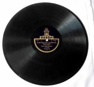118935 Schellackplatte Odeon