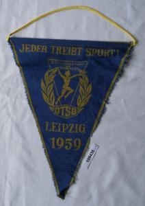 DDR Wimpel III. Deutsches Turn- u. Sportfest Leipzig 1959 (109435)