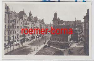 86114 Foto Ak Prag Altneusynagoge und jüdisches Rathaus um 1940