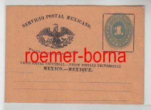 72575 seltener Ganzsachen Brief Mexiko 1 Centavo um 1900