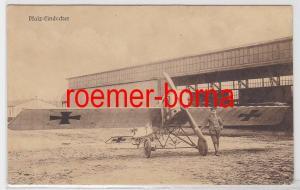 82571 Ak Pfalz Eindecker Flugzeug mit Pilot 1.Weltkrieg
