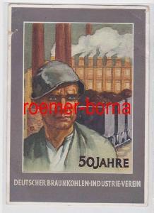 61793 Ak 50 Jahre Deutscher Braunkohlen Industrie Verein 1935