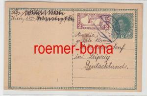 75864 seltene Ganzsachen Karte K.K.Österreichische Post 1919