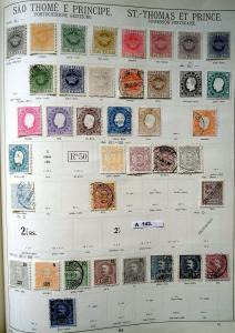 Schöne hochwertige Briefmarkensammlung São Tomé und Príncipe portug. Besitzung