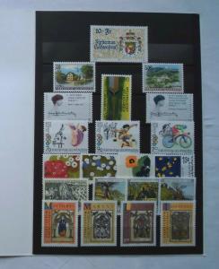Liechtenstein Jahrgang 1996 postfrisch komplett (114200)
