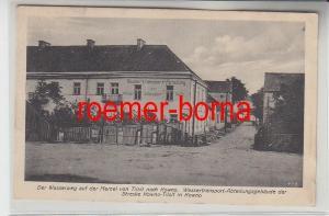 49545 Ak Kowno Wassertransport-Abteilungsgebäude der Strecke Kowno-Tilsit 1916