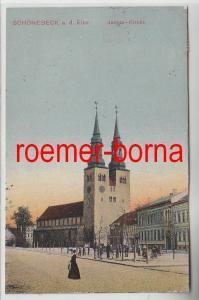 74346 Ak Schönebeck an der Elbe Jacobi Kirche 1910