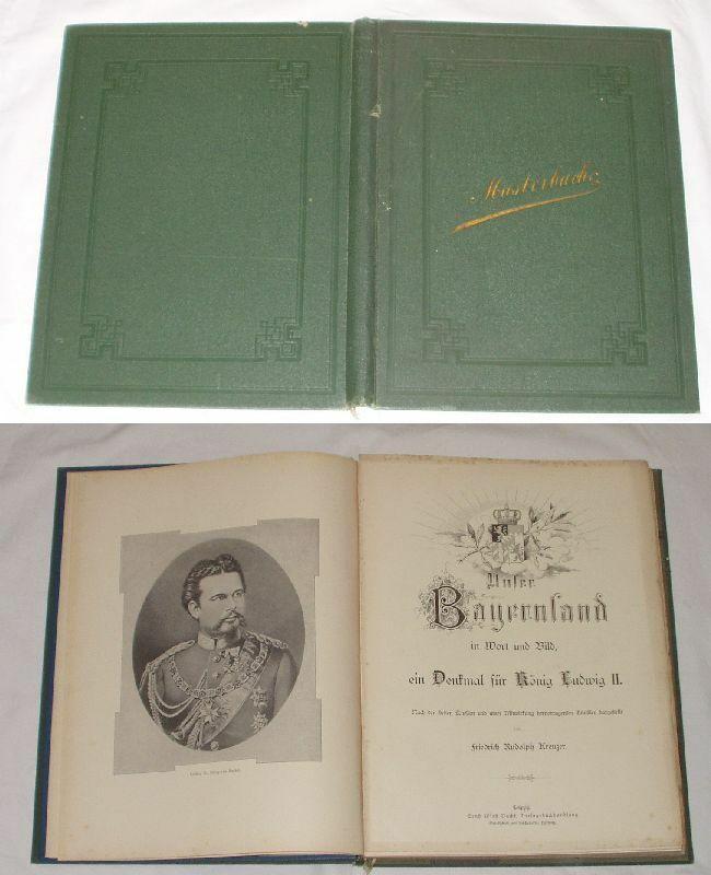 Musterbuch Unser Bayernland in Wort und Bild um 1900 (Nr.979) 0