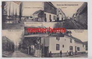 86183 Mehrbild Ak Gruß aus Herrengosserstedt Materialwarenhandlung usw. 1914
