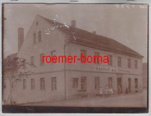 76693 Original Foto Kiebitz Gasthof zur Erholung um 1910
