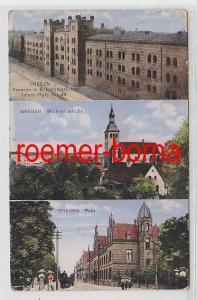 73059 Mehrbild Ak Gnesen Kaserne 6. Pomm. Inf. Rgt., Michaeliskirche, Post 1914