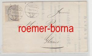 75976 alter Brief Schweiz 2 Rappen von Burgdorf nach Glarus 1870
