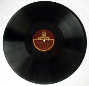 124594 Odeon Schellackplatte Ay-Ay-Ay & Chant Hindou um 1930