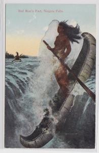 83863 Ak Red Man´s Fact, Niagara Falls 1914