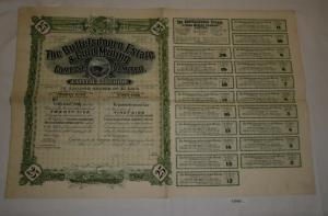500 Franc Aktie Crédit National Ministre du Finances Emprunt 1920 (127993)