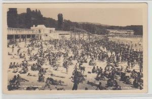 67845 Foto Ak Stalin (Warna) Bulgarien Strandansicht um 1950