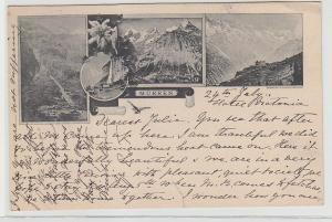 68772 Mehrbild Ak Mürren Schweiz 1894