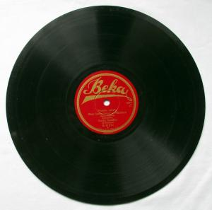 124713 Beka Schellackplatte Ukulele lullaby & Serenata um 1930
