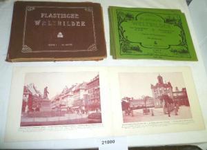 Plastische Weltbilder Serie I 10 Hefte, Deutscher Verlag Berlin um 1930