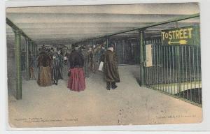 65930 Ak Hudson Tunnels Mezzanine Floor Hoboken Terminal 1909