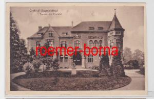 82223 Ak Crefeld-Blumenthal Turnverein Crefeld um 1910