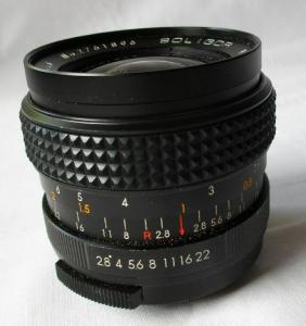 Weitwinkelobjektiv SOLIGOR 1:2.8 f=35mm 55ø No.2761896 Wide-Auto Lens (108645)