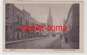 81569 Ak Memel (Klaipėda) Friedrich-Wilhelm-Strasse um 1910