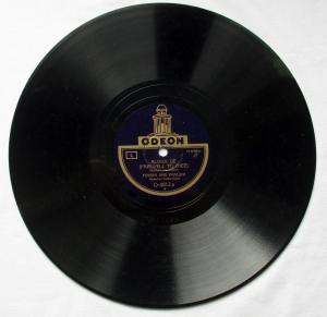 124635 Odeon Schellackplatte Wailana Waltz & Aloha Oe um 1930