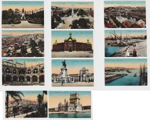 76845/11 Ak Lissabon Lisboa Portugal Ortsansichten 1914