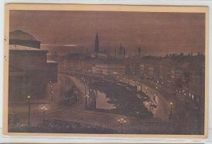 68571 Ak København Parti fra Gl.Strand i Aftenbelysning 1913