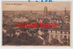 84945 Ak Danzig vom Bischofsberg um 1920