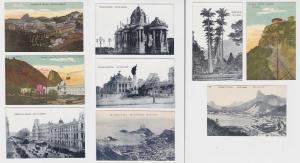 76603/9 Ak Rio de Janeiro Brasilien Ortsansichten 1914