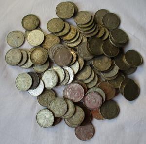 100 Silbermünzen 3.Reich 2 Mark Hindenburg (127281)