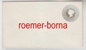 75170 seltener Ganzsachen Brief Mauritius 8 Cents grau um 1900