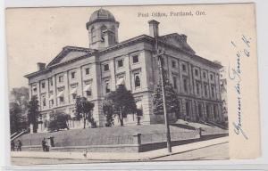 69729 Ak Portland Oregon USA Post Office 1908