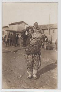 93469 Foto AK Mazedonien Frau mit Kind im Arm 1. Weltkrieg
