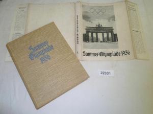 Sommer-Olympiade 1936 Werk 1 (Zigarettenbilderalbum)