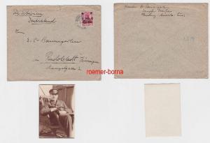 72283 Brief Deutsche Post in China Schanghai 4 Cents 1914