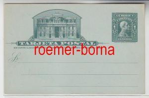 71719 seltene Ganzsachen Postkarte Chile 1 Centavo um 1900