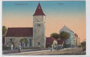 88380 AK Leipzig Mockau Kirche - Stephanuskirche um 1910