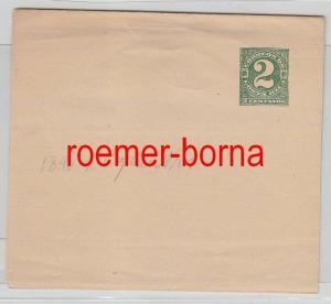 75961 seltener Ganzsachen Brief Costa Rica 2 Centavos grün 1890