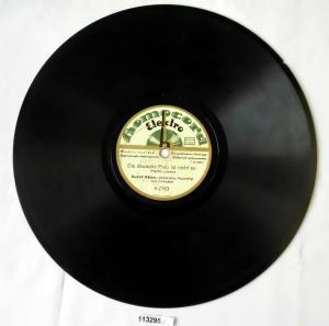 113295 Schellackplatte Homocord
