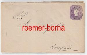 76084 seltener Ganzsachen Brief Chile 5 Centavos 1898