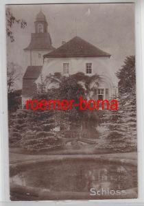 76712 Original Foto Glaubitz Schloss um 1910