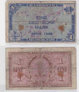 1 Mark Banknoten Bank Deutscher Länder 1948 (117499)
