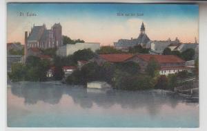 71947 Ak Deutsch Eylau Ilawa Blick auf die Stadt 1914